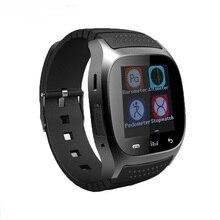 2016 wasserdichte Intelligente Uhr M26 Frau Männer Bluetooth Smartwatch Sync Anruf Pedometer Anti-verlorene Für Android Smartphone