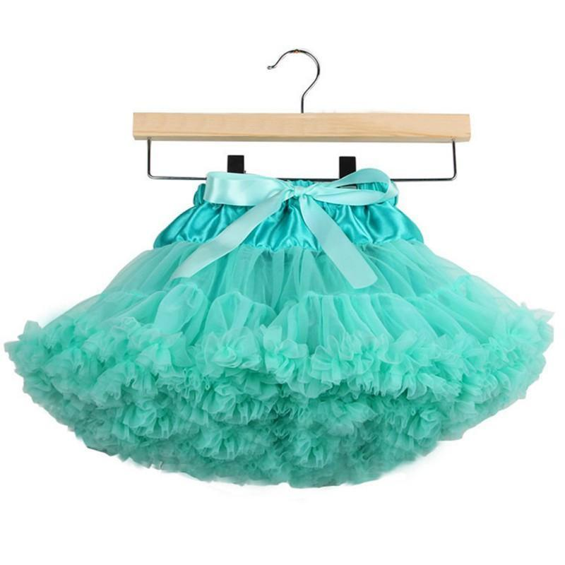 Wholesale 0-10Y Children Kids Clothes Baby Girl Multilayer Tulle Party Dance Cake Ruffle Tutu Skirt Baby Girl Clothes Pomp Skirt