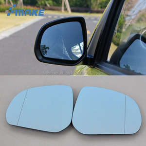 smRKE 2Pcs For Suzuki Alto Rearview Mirror Blue Glasses Wide Angle Led Turn Signals light Power Heating|mirror rearview|wide angle rearview mirror|wide angle mirror -