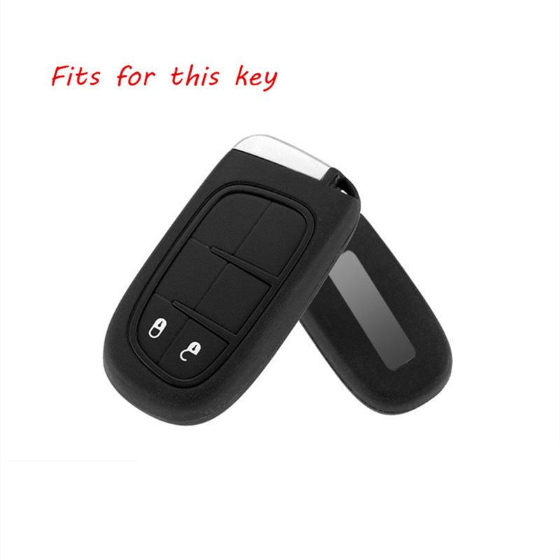 New Aluminum Alloy Remote Smart Key Cover Fob Case Shell For Dodge Journey Charger For Jeep Renegade Grand Cherokee Light Weight