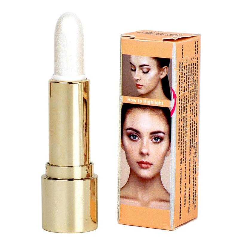 New Hot Brighten Stick Shimmer Long Lasting Silkworm Pen Bronzer Makeup Eyes Face Bronzing Sticks