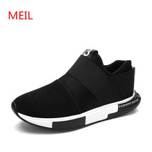 Men shoes 2018 fashion breathable loafers casual men Designer sneakers chaussure homme trainers platform for