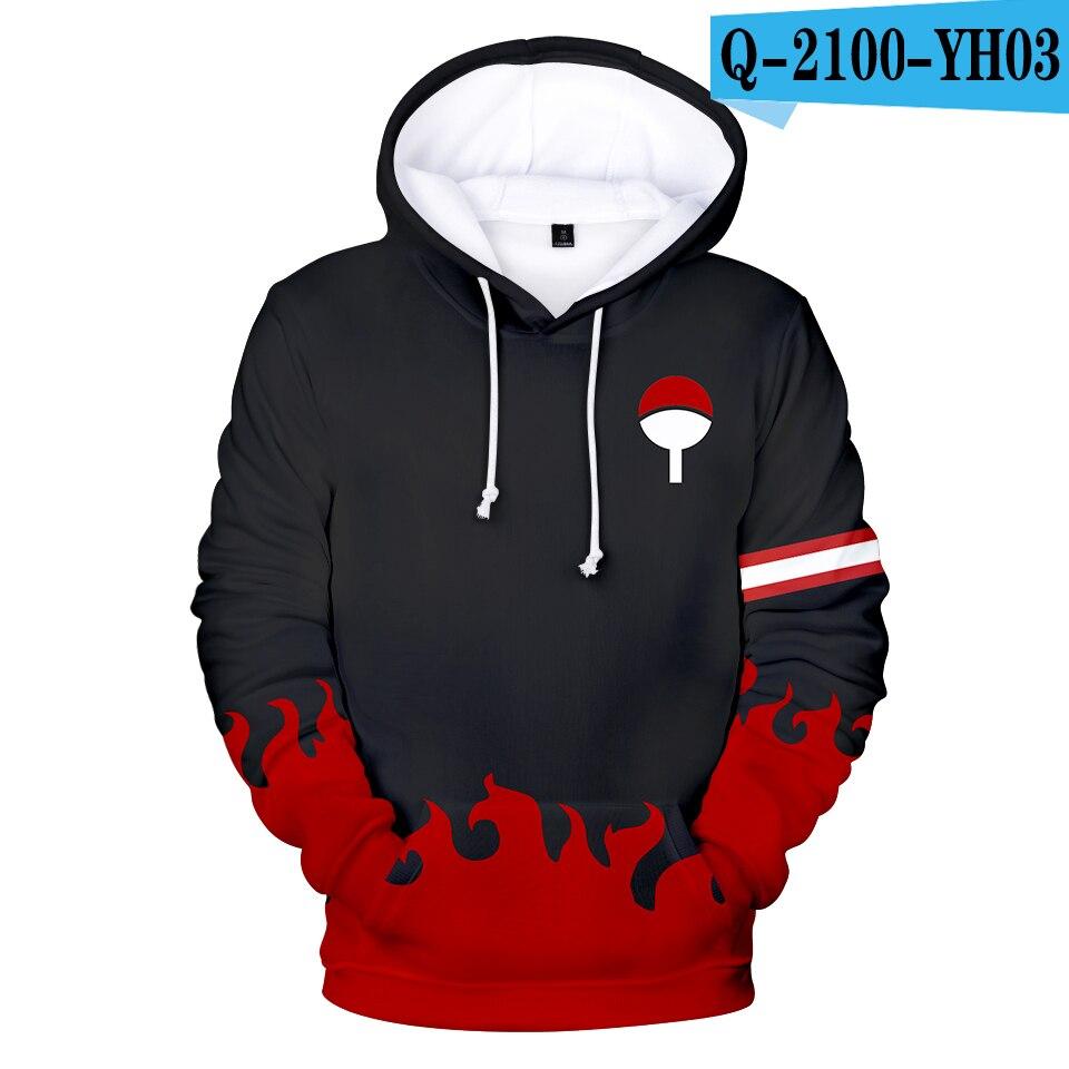 Naruto 3D Aikooki Hot sale Hoodies Men Women Casual Autumn Sweatshirts Fashion Hooded Anime Naruto 3D Hoodies Mens Clothing XXS 5