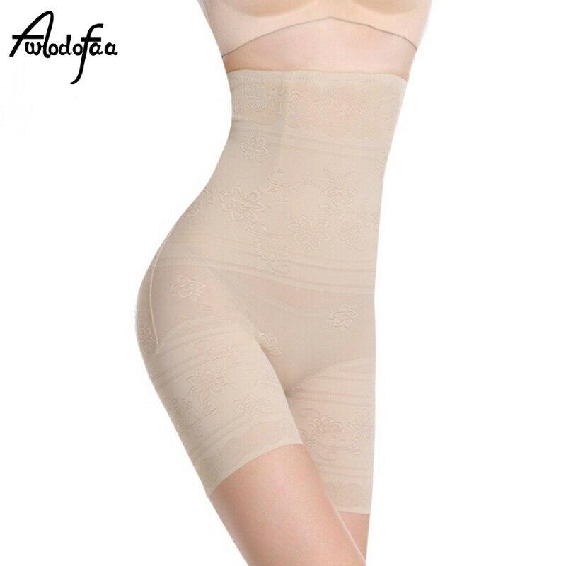 Seamless Women High Waist Slimming Tummy Control Knickers Pants Pantie Briefs font b Shapewear b font