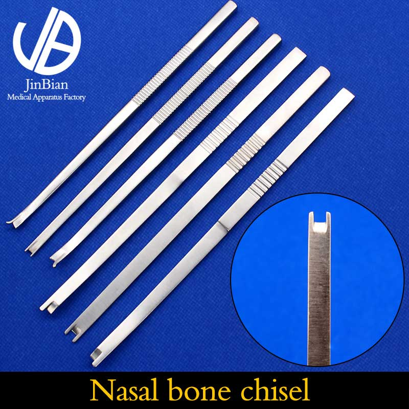 Nasal Bone Chisel Surgical Instrument Nose Shaping Tool Stainless Steel Surgery Department Bone Chisel Osteotome Bone Knife