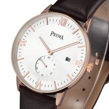 New Men Watches Top Brand Luxury 50m Waterproof Ultra Thin Date Clock Genuine Leather  Casual Quartz Watch Men Wrist Sport Watch