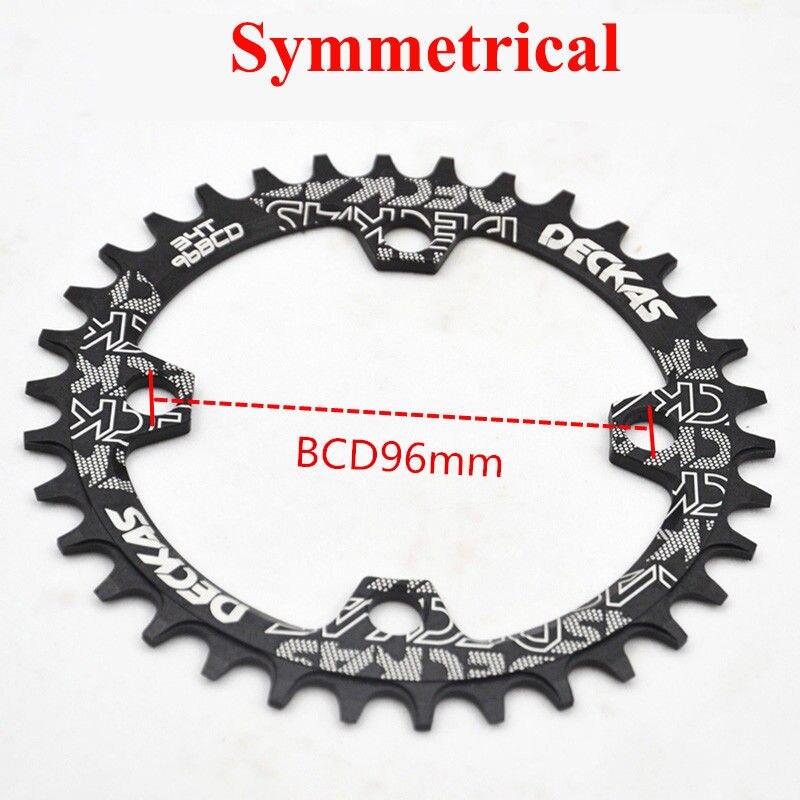 ALI shop ...  ... 32959628064 ... 4 ... Deckas Chainwheel 96BCD 32T/34T/36T/38T Round Oval Narrow Wide Chainring MTB Road Bike Crankset Chainwheel Bicycle Parts ...