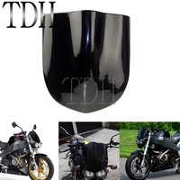 Black Motorcycle Windshield Windscreen Deflector Buell Style Fly Screen Front Fairing For Harley Streetfighter Dirt Bike Custom