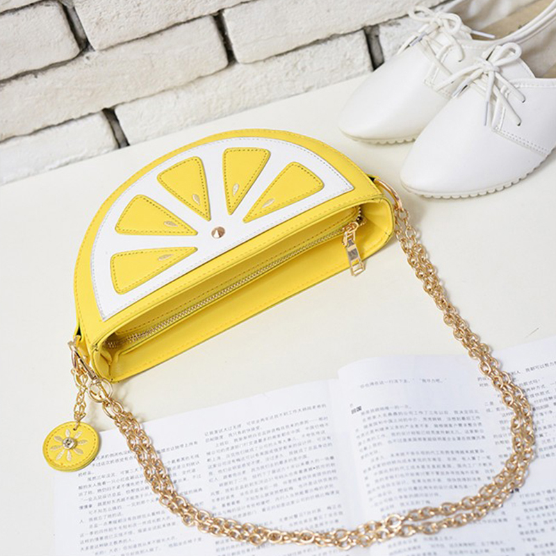 59 Lemon Tassen In 50Off Zakken Handtassen Us9 Pocket Cartoon Crossbody Vrouwen Mode Bag mode Schoudertassen Orange Fruit Watermeloen 34qSjLc5AR