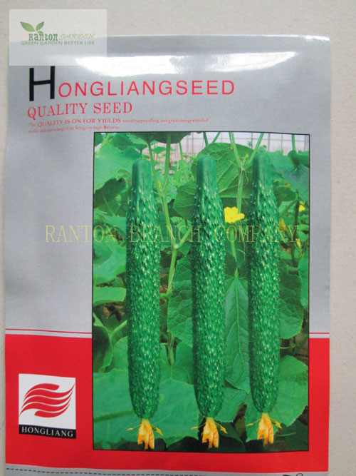 1 Original package HONGLIANG cucumber seeds, very cute fruit Cuke Seeds, Green vegetable Seeds for home garden