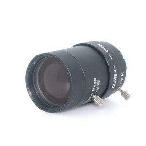 """MP HD 5-50 мм CS Объектив 1/3 """"IR CS крепление с переменным фокусным расстоянием, ручная камера видеонаблюдения, коробка"""