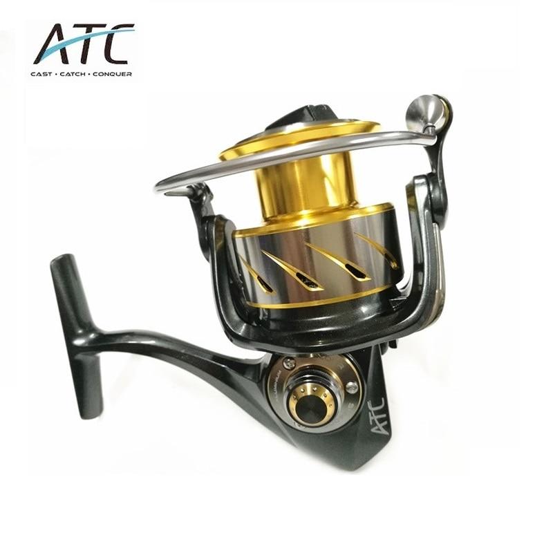 ATC spinning reel 3000H 4000H 5000H high speed than sea angling reel jigging rod reel 11
