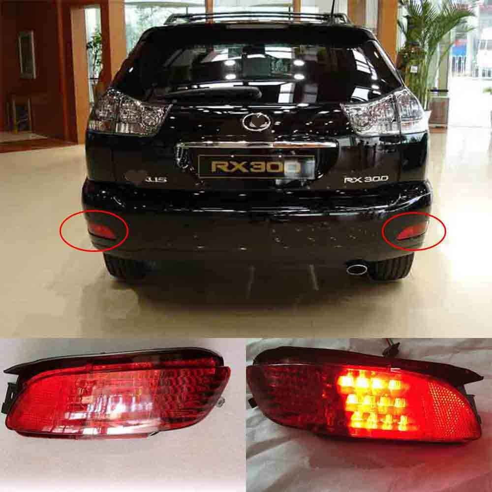hight resolution of detail feedback questions about rear bumper fog led light for lexus rx300 rx330 rx350 2003 2008 for toyota harrier venza 2013 on aliexpress com alibaba