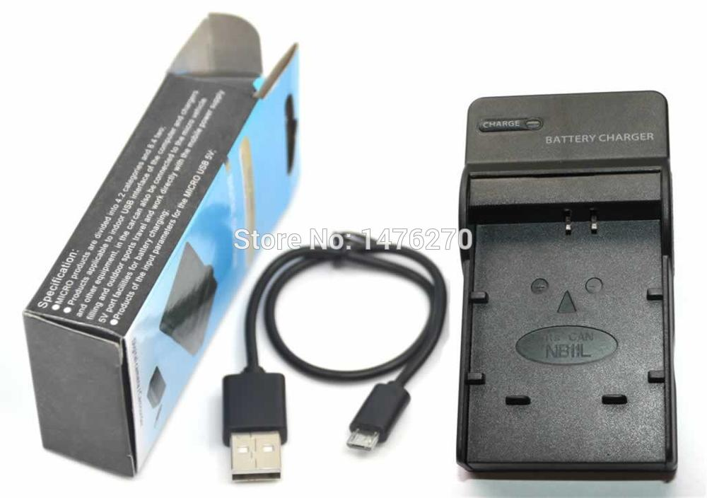Cargador de batería de alimentación f Canon PowerShot a2300 a2400 is a2500 nb-11l cb-2ldc