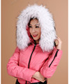 Men Womens 100% Natural Real Fur Collar 80cm Long 10cm Width  Real Fur Shawl Raccoon collar Fur White raccoon fur collar