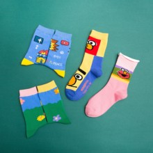 KingDeng Adult Ankle Kawaii Pink Funny Socks Cute Summer Women Sock Fashion Design Streetwear Vintage Harajuku Korean Style