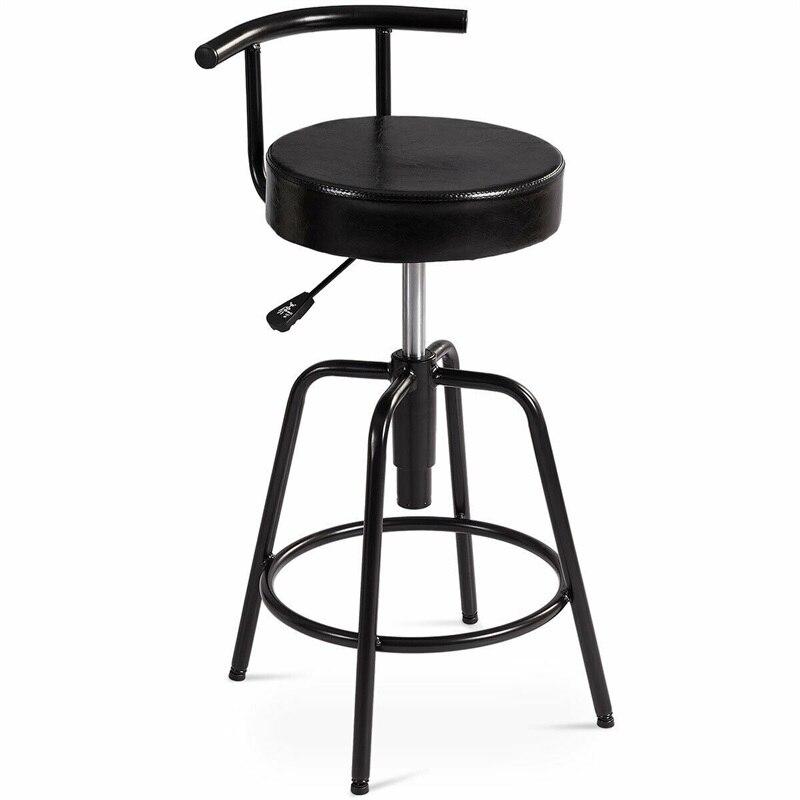 Tabourets de Bar réglables modernes pivotants Vintage tabouret de Bar chaise Kithchen PU cuir Bistro Pub meubles HW61045