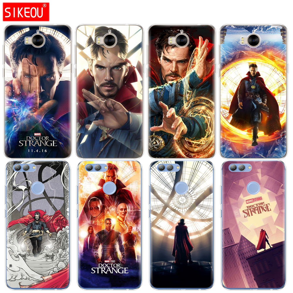Fitted Cases Cellphones & Telecommunications Silicone Phone Cover Case For Huawei Y3 Y6 Y5 2 Ii 2017 Nova 2s 2 Lite Plus Nova 3 3i 3e Marvel Doctor Strange Activating Blood Circulation And Strengthening Sinews And Bones