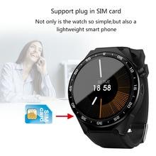 3g Android V5.1 SmartWatch телефон 1,39 AMOLED Полный Круглый Экран 5MP Bluetooth 4,0 + WI-FI + GPRS сердечного ритма трекер спортивный шагомер