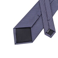 Popular Men's Ties Classic Plaid Mix Color Tie Handkerchief Pocket Cufflinks Set Fashion Neck Tie for Men C-660 4