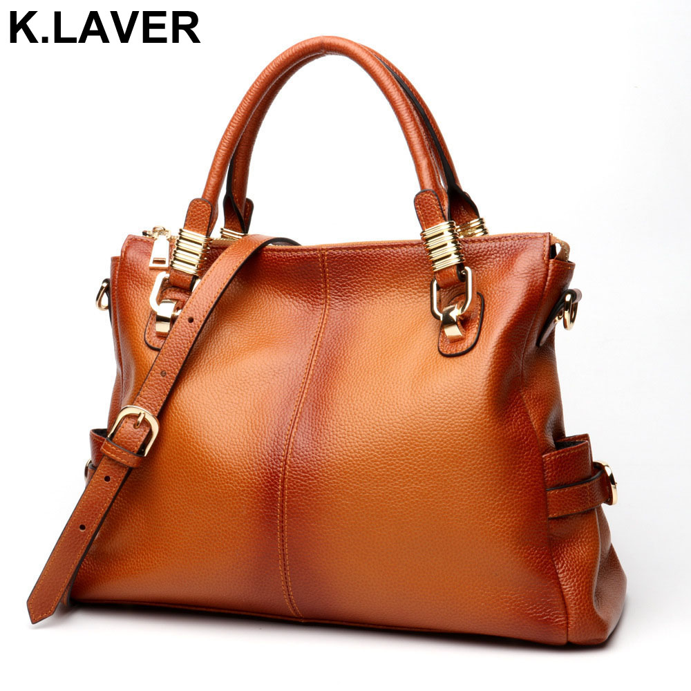 Top Brand 2018 Fashion Women Handbag First Layer Leather Women Bag Soft Genuine Leather Shoulder Bag Large Capacity Casual Totes shengdilu new arrival 2017 brand genuine leather women handbag soft leather fashion shoulder bag casual women monbag