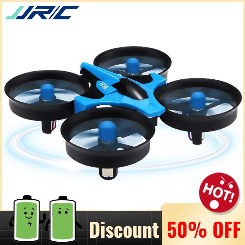 JJRC H36 Mini Drone Quadcopter 3D Flip modo sin cabeza una llave de retorno RC helicóptero Drones VS JJRC H8 Mini Dron mejores juguetes para niños
