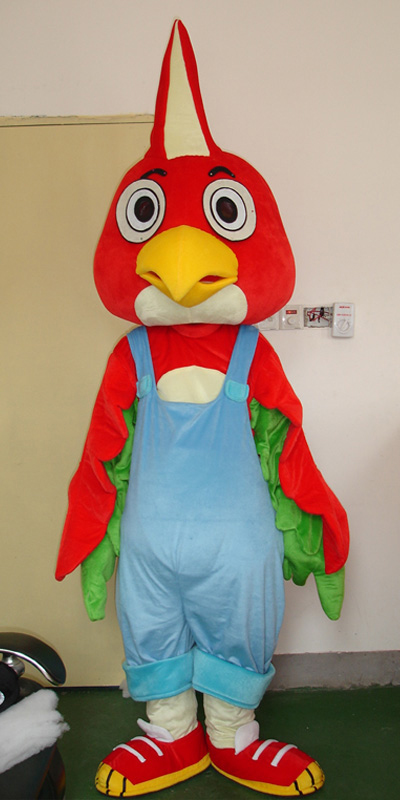 Red Turkey Mascot Costume Chicken Costume Adult Size Advertisement Costumes Halloween Fancy DRESS  Multiple Color  Free Shipping