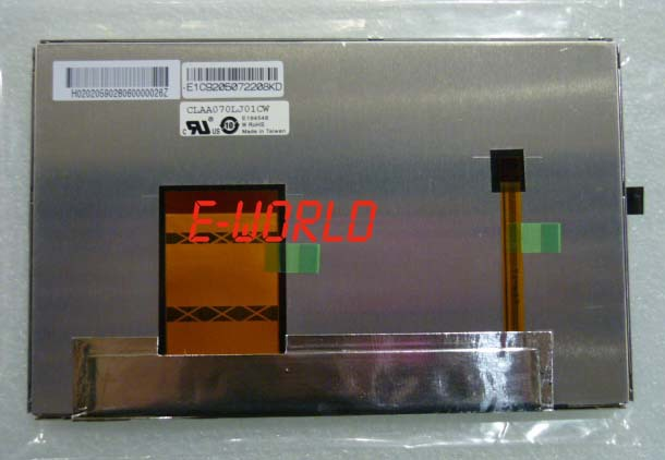 Original LCD screen CLAA070LJ01CW free shipping