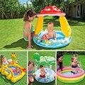 Alta Qualidade Encantador Dos Desenhos Animados do Bebê Piscina Inflável Grande Piscina para Os Bebês de Água Que Joga o Jogo Do Bebê Dom Piscina de bolinhas Bola Oceano C01