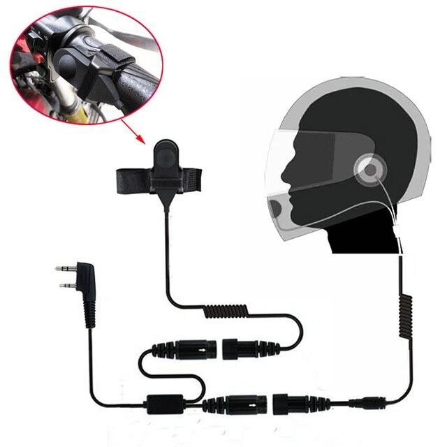オートバイフルフェイスヘルメットヘッドセット双方向ラジオ baofeng トランシーバー UV 5R UV 5RA プラス BF 888S GT 3 GT 3TP マーク