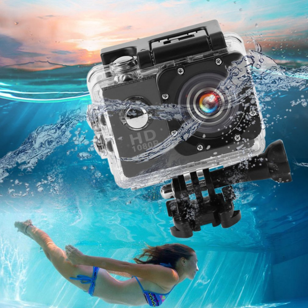 Mini Outdoor Sport Camera Underwater Waterproof 30M Full HD1080P Action Camera Sport Camera with 1.5/2.0'' Screen SJ4000