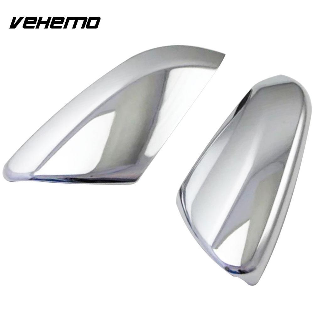 Vehemo Car Rearview Mirror Cover Cover Side Mirror Cap Body Side Car Mirror Cover for Modified Rearview Protective Cap