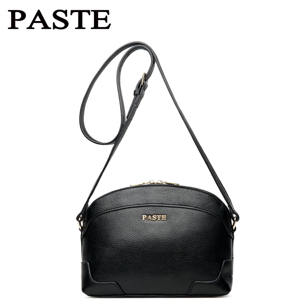 New 2017 fashion Women genuine leather Shoulder Bag  Shell Bags Casual Handbags small messenger bag 4 colors jialante 2017 new lizard leather bag is made of simple small shell bag customized for 15 days