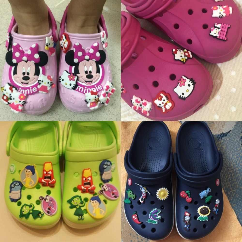 2ce7e41233291 ... 9PCS lot the Secret Life of Pets PVC Shoe Charms Accessories for Croc  Decorations for
