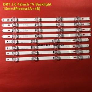 """Image 5 - 100% новый 8 шт. (4 * A,4 * B) Светодиодный светильник для LG INNOTEK DRT 3,0 42 """" A/B Тип 6916L 1709B 1710B 1957E 1956E 6916L 1956A 6916L 1957A"""
