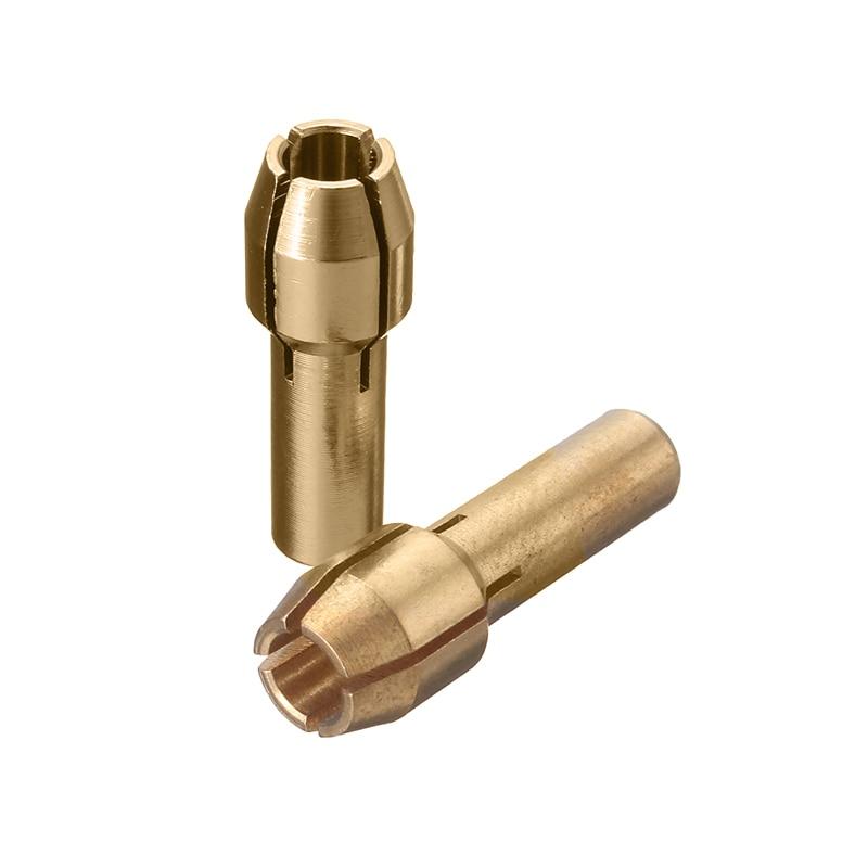 Doersupp 10 sztuk / zestaw Mosiężne uchwyty wiertarskie Tuleje - Akcesoria do elektronarzędzi - Zdjęcie 4