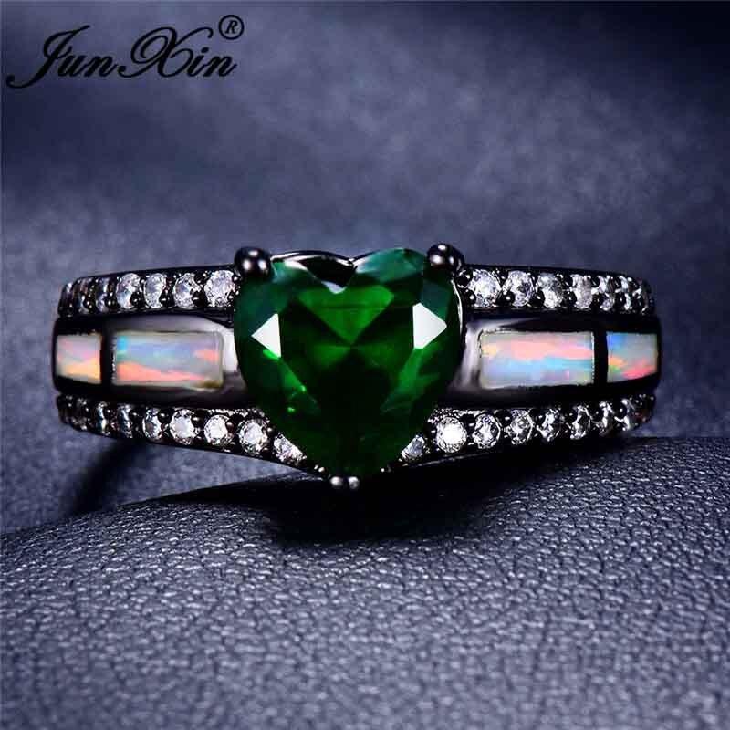White Opal Green
