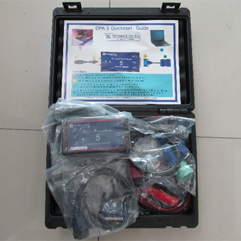 cnh dpa5 dearborn protocol adapter 5 heavy duty truck diagnostic tool with all cables 2 years warranty