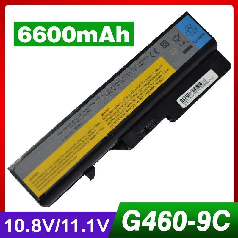 5a70bb22e12a2f ≧6600 mAh batterie d ordinateur portable pour LENOVO G560 G565 G570 ...