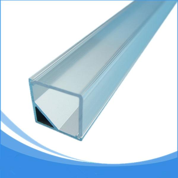 20PCS 1 m de longitud de aluminio perfil de la esquina llevó el - Iluminación LED