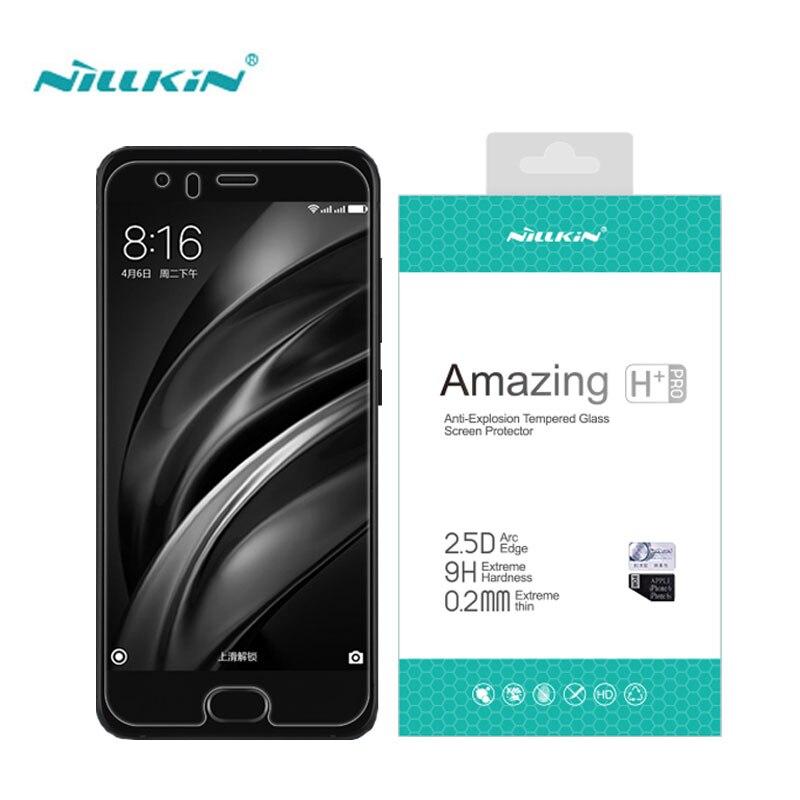 Xiaomi Mi6 Gehärtetem Glas Xiaomi Mi8 Glas Nillkin Erstaunlich H + Pro 0,2mm Screen Protector für Xiaomi Mi6 M6 mi8 SE Film