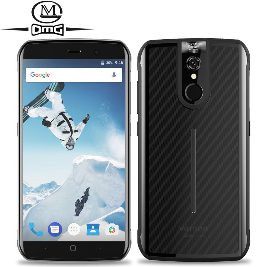 Vernee Active IP68 Waterproof shockproof mobile phone 5 5 6GB RAM 128GB MT6757 Octa core Android