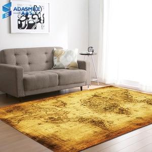 Image 2 - Большой мир карта ковры ковер спальня дети ребенок играть ползающий коврик пены памяти коврики ковер для гостиной дома декоративные