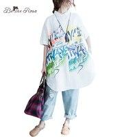 BelineRosa Plus Size Women Blouse 2017 Korean Style Streetwear Fashion Short Sleeve Blouse For Women Fit
