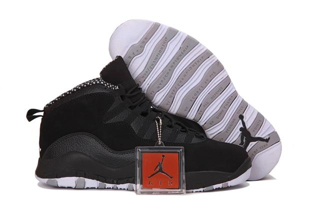 9d35866b522129 Jordan Air Retro AJ10 X Man Basketball Shoes White and black red venom  stealth steel Outdoor