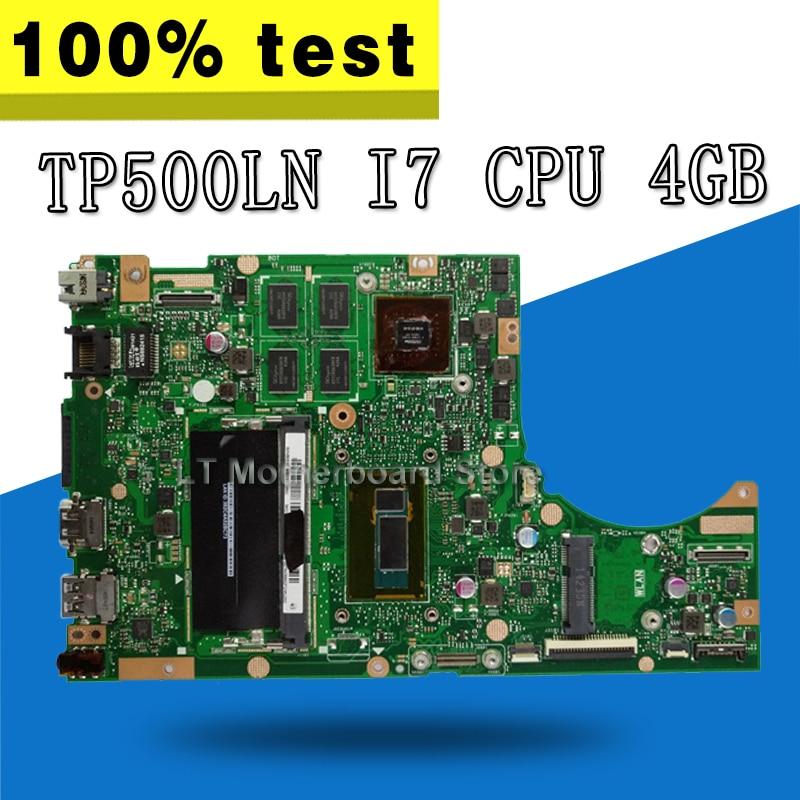 TP500LN motherboard GT840M i7-4510U REV2.0 For ASUS TP500LN TP500L laptop Motherboard TP500LN Mainboard TP500LN motherboardTP500LN motherboard GT840M i7-4510U REV2.0 For ASUS TP500LN TP500L laptop Motherboard TP500LN Mainboard TP500LN motherboard