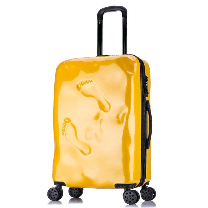 Inch Boîte Pouce Bagages 24 24 Originalité Roulettes Valises 20 D'embarquement 20 Sac Inch À Accident Voyage Femmes Inch Italien Chariot qZ45vnF