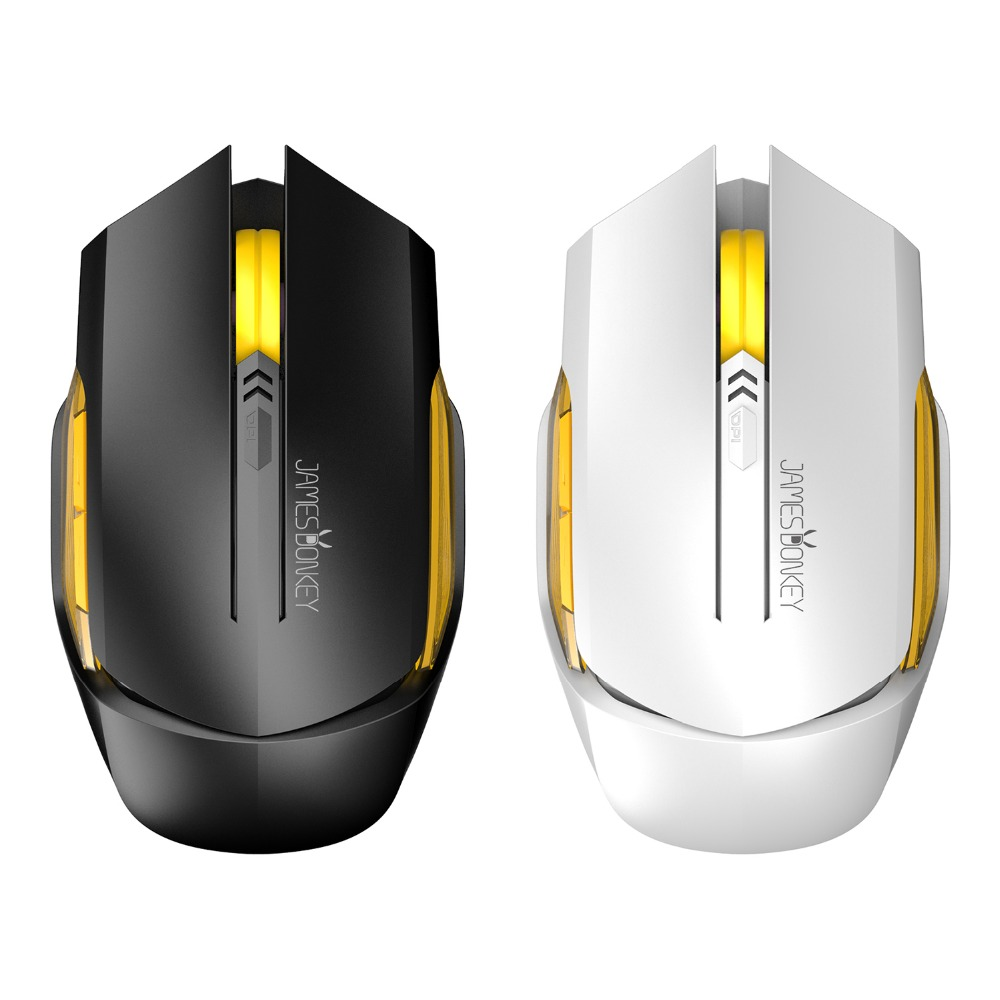 James Donkey 102 Optical 2.4GHz Wireless Gaming Mouse con 6 botones - Periféricos de la computadora