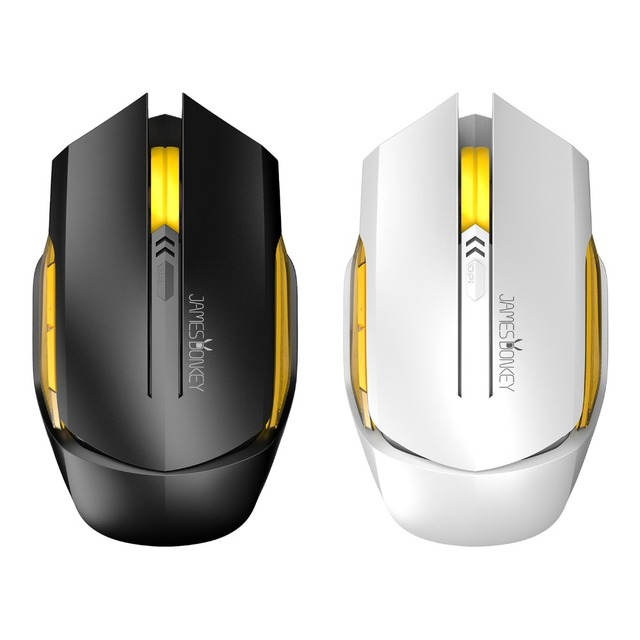 James Donkey 102 Optical 2.4GHz Wireless Gaming Mouse with 6 Buttons 2000dpi Adjustable Gaming Mice for Gamer CS LOL Mac Office