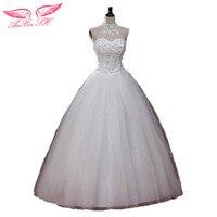 White Plus Size Maternity Strap Wedding Dress Halter Neck Wedding Dress Lace Wedding Dress